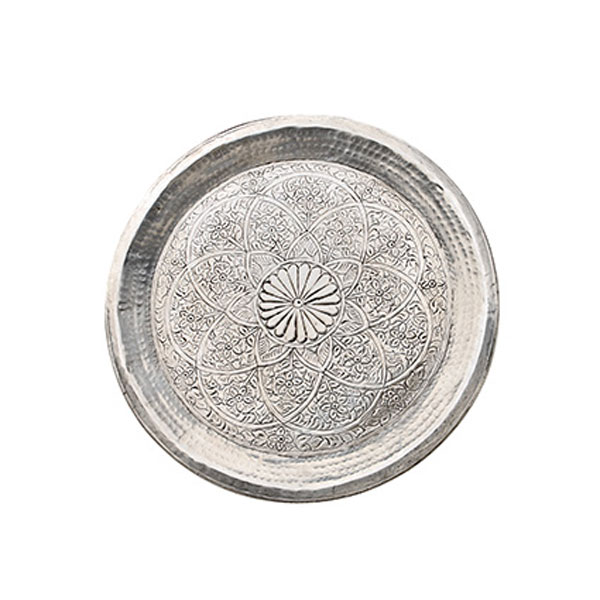 dienblad-aluminium-indian-flower-zilver