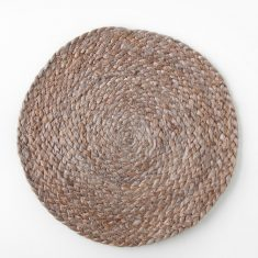 Urban Nature Culture Placemat round - Jute cinder