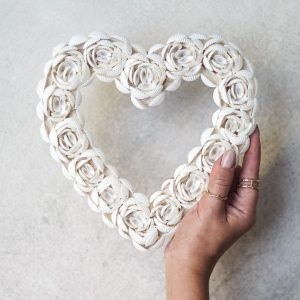 Heart Shells Hart Schelpen | White
