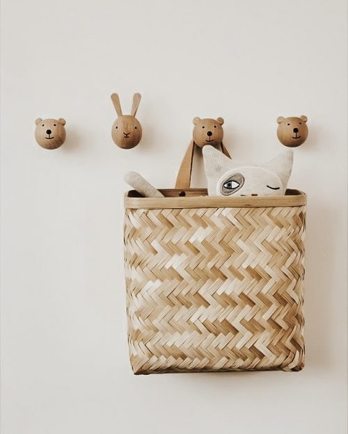 Wall Basket Hangmand | Bamboe