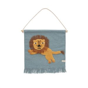Wandhanger Wall Hanger Blue | Lion