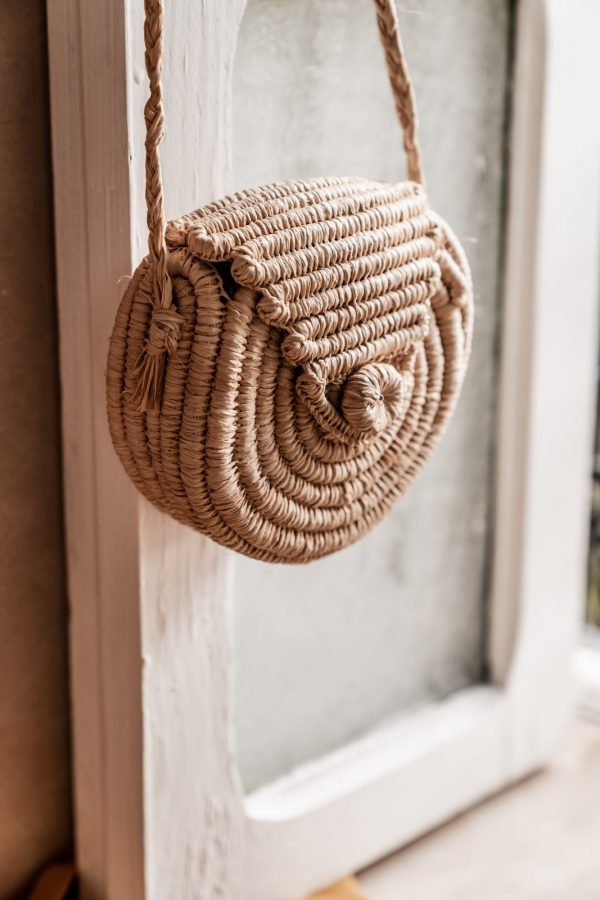 Kids Mini Bag Raffia