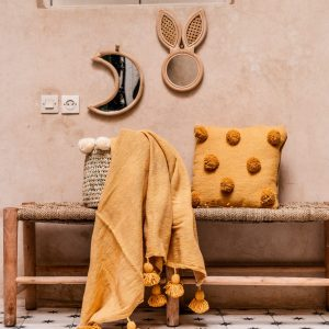 Rotan Rabbit Mirror