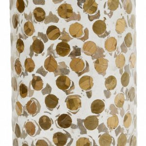 Dotted Vaas Gold | 20 cm