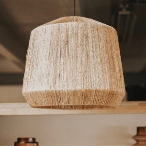 Lamp Jute Shade Naturel