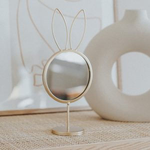 Mirror Spiegel Rabbit | Gold