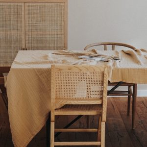 Tafelkleed Tablecloth Cotton | Yellow