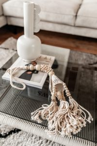 Decoratie Schelpenketting Double Naturel