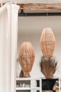 Rotan Lamp Cocon